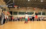 体育节师生篮球友谊赛